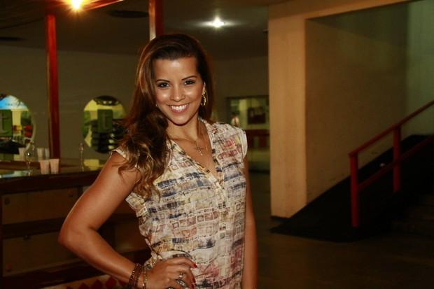 Renata Santos (Foto: Isac Luz / EGO)
