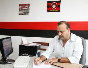 William Simões, presidente do Campinense (Foto: Magnus Menezes / Jornal da Paraíba)