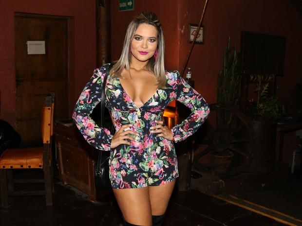 Geisy Arruda em evento em São Paulo (Foto: Danilo Carvalho/ Ag. Fio Condutor/ Divulgação)