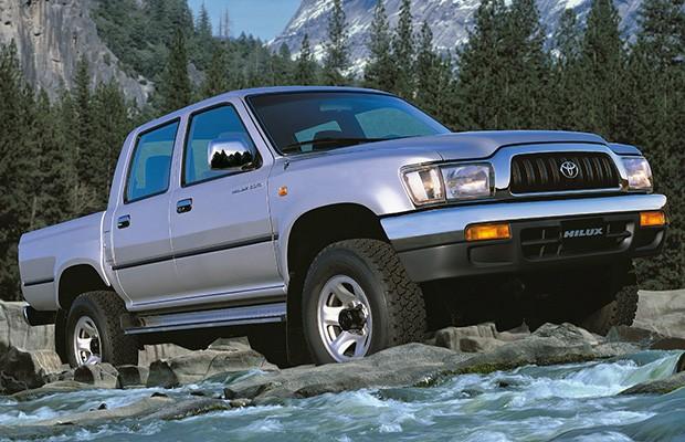 Toyota Hilux de quinta geração passou por facelift na Argentina (Foto: Divulgação)