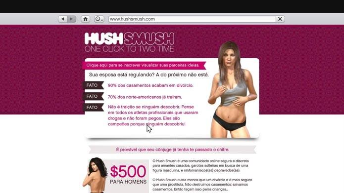 HushSMush (Foto: Reprodução/Murilo Molina)