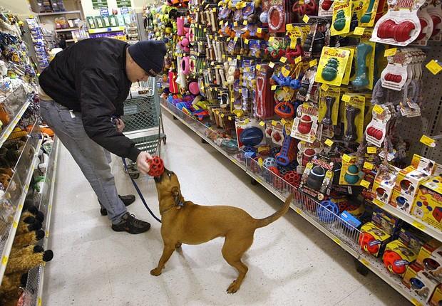 Loja da PetSmart (Foto: Tim Boyle/Getty Images)