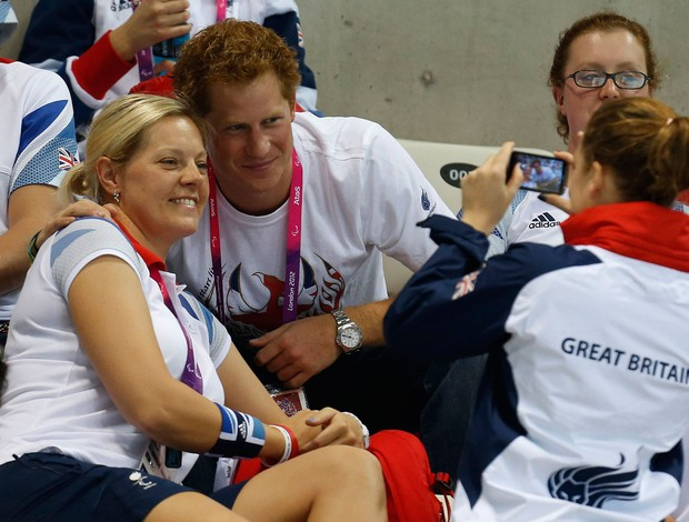 principes harry  inglaterra londres 2012 olimpiadas (Foto: Reuters)