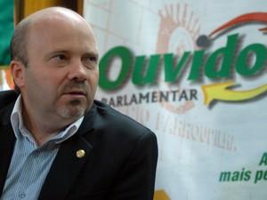 Deputado Marlon Santos Assembleia RS caso Bernardo  (Foto: Karine Viana/Agência ALRS)