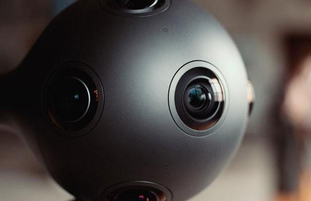 Ozo, câmera de realidade virtual da Nokia. (Foto: Reprodução/Nokia)