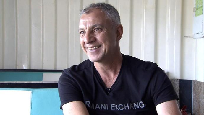 Márcio Fernandes, técnico do Guarani (Foto: Reprodução EPTV)