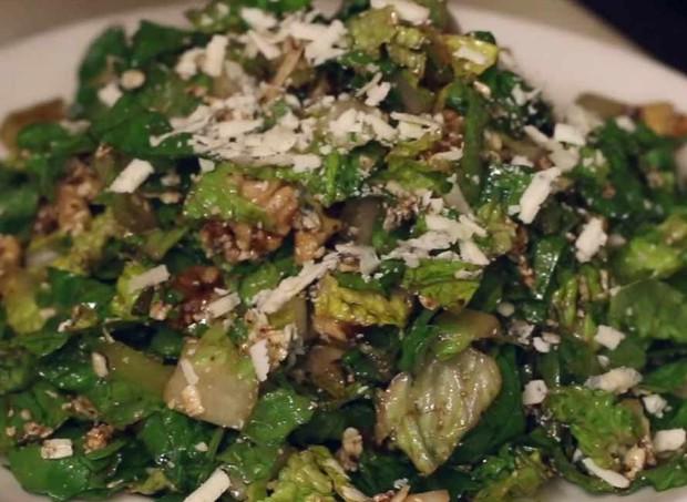 A famosa Salada da Maternidade: será que funciona? (Foto: Reprodução/ Facebook)