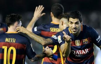 Com mais um de Suárez, MSN bate recorde de gols da última temporada