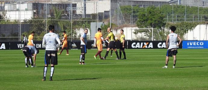 Jogo-treino Corinthians x Juventus (Foto: Marcelo Braga)