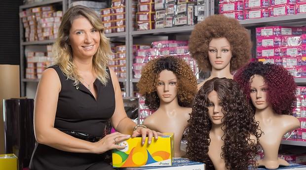 Leticia Korndorfer, fundadora da Tress Cabelos (Foto: Brunno Rogger/Divulgação)