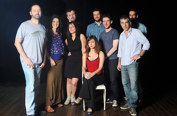 Elenco de dramaturgos que participa do projeto (Foto: Bob Souza)