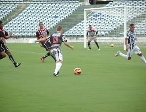 Botafogo-PB, Amistoso, Vera Cruz-PB, Paraíba, 5 a 1, Estádio Almeidão,  (Foto: Richardson Gray / Globoesporte.com/pb)