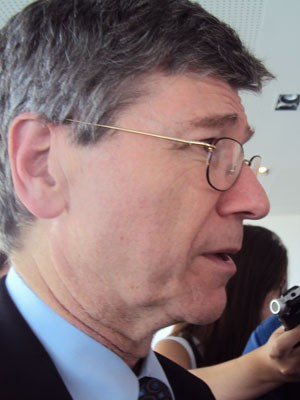 Economista norte americano Jeffrey Sachs