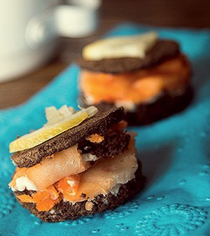Sanduíche de salmão (Foto:  )