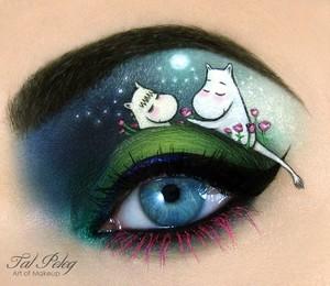 """""""The Moomins"""", desenho animado polonês (Foto: Reprodução/Tal Peleg)"""
