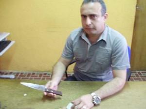 delegado regional de icó marcos lira,  (Foto: Richard Lopes/TV Diário)