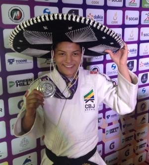 Sarah Menezes prata Masters Guadalajara judô (Foto: Divulgação/CBJ)