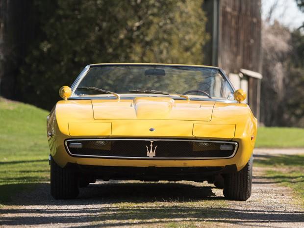 Primeiro Maserati Ghibli Spyder vai a leilão  (Foto: Divulgação)