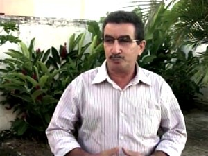 Eriberto Garcia, foi cassado na Câmara. (Foto: TV Verdes Mares/Reprodução)