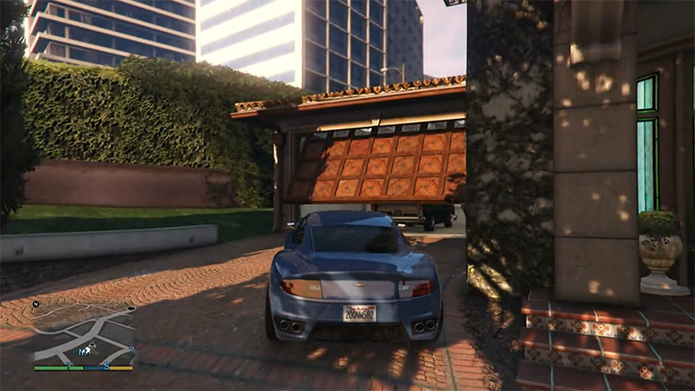 Também é possível usar a garagem das casas (Foto: Reprodução/Murilo Molina)