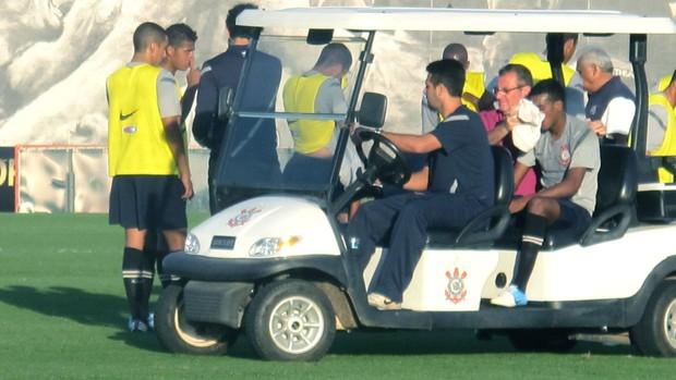 Edenilson, treino Corinthians (Foto: Marcos Guerra / Globoesporte.com)