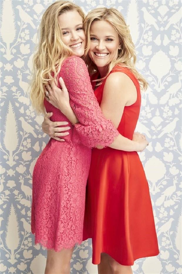 Reese e a filha Ava (Foto: Reprodução Instagram)