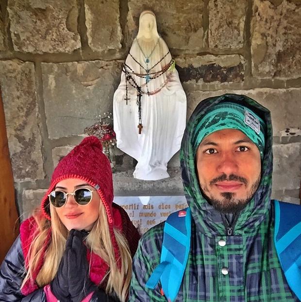 Aline Gotschalg e Fernando Medeiros (Foto: Reprodução/Instagram)