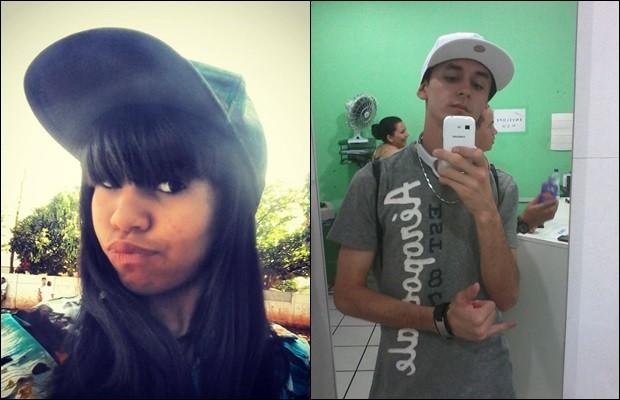 Kemily e Eduardo foram mortos a facada pelo ex da menina em Itapuranga, Goiás (Foto: Arquivo pessoal)