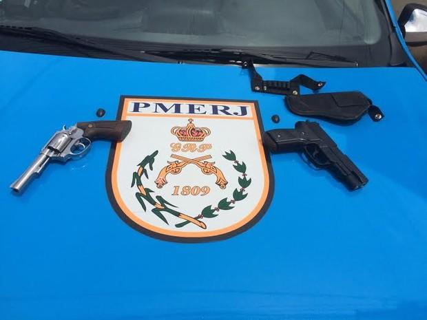 Tentativa de homicídio em Macaé (Foto: PM?Divulgação)