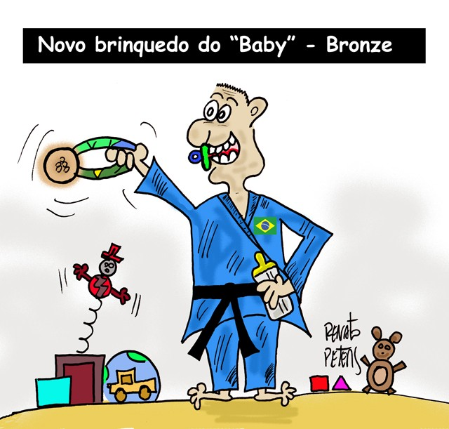 BLOG: Novo brinquedo do Baby