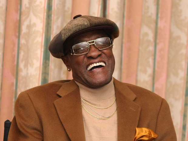 Billy Paul em Beverly Hills, Califórnia, em 2008 (Foto: Noel Vasquez / Getty North America / AFP Photo)