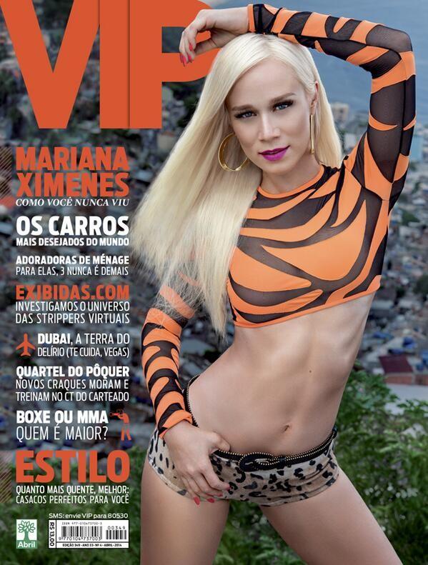 Mariana Ximenes na capa da VIP de Abril (Foto: Reprodução / Revista Vip)