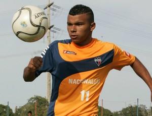 Canga, atacante do Fortaleza Sub-20 (Foto: Natinho Rodrigues/Agência Diário)