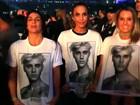 Ivete Sangalo vai a show de Justin Bieber em estádio