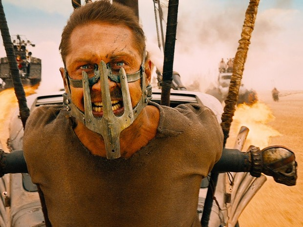 Tom Hardy vive o protagonista de 'Mad Max: Estrada da Fúria' (Foto: Divulgação)