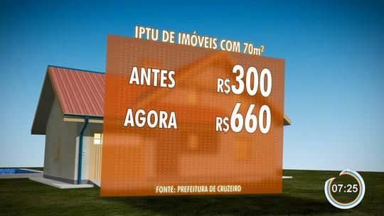 Moradores de Cruzeiro reclamam do aumento do IPTU na cidade