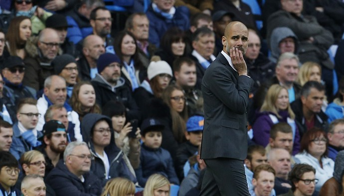 Guardiola Manchester City x Southampton (Foto: Reuters)