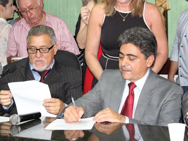 Prefeito Ilário Marques decreta estado de calamidade financeira em Quixadá  (Foto: Prefeitura de Quixadá/Divulgação)