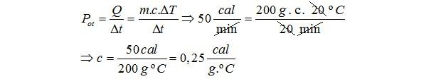 Resolução de questão - térmica (Foto: Reprodução)