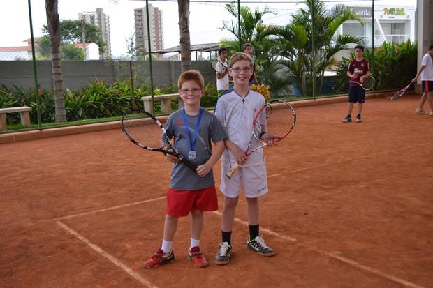 Alexandre e Luis Felipe Porfírio Magriots (Foto: Jane Porfírio/Arquivo Pessoal)
