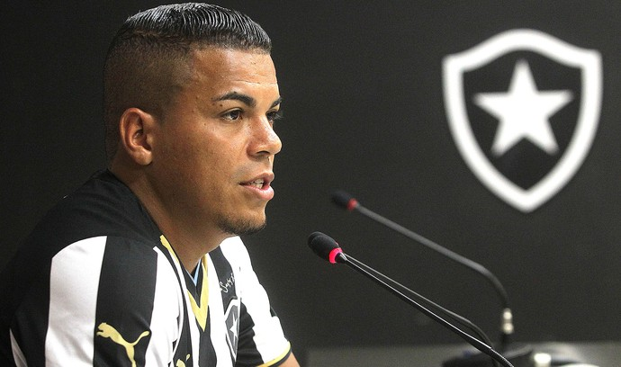 Thiago Carleto, Botafogo (Foto: Vitor Silva / SSpress)