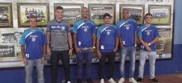 Apresentação do elenco do Rio Claro (Foto: Divulgação / Rio Claro FC)