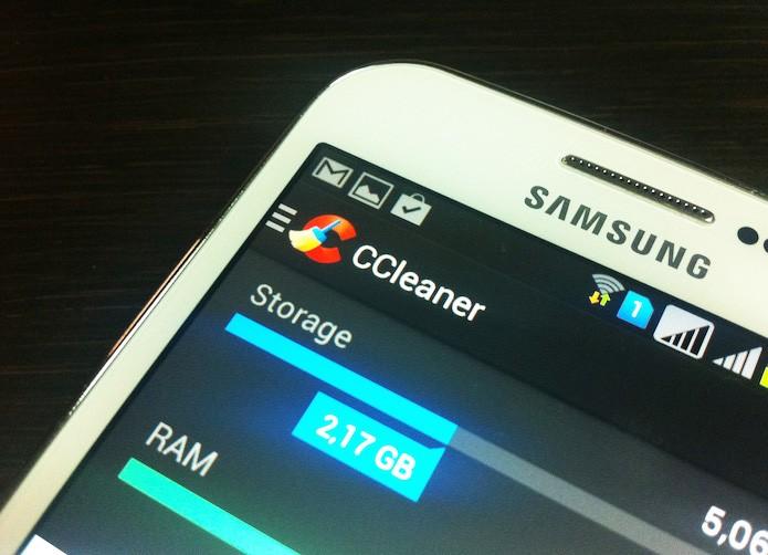 Veja como usar o CCleaner para Android (Foto: Marvin Costa/TechTudo)