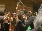 Alckmin é hostilizado por artistas em  campanha política em Ribeirão Preto