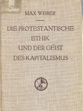 Capa do livro A Ética Protestante e o Espírito do Capitalismo (Foto: Divulgação)