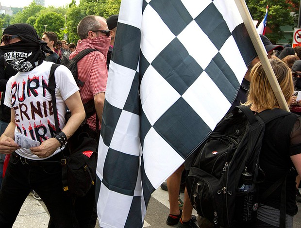 Protestos, Canadá, F1 (Foto: Agência Reuters)