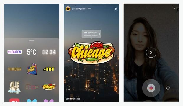 Instagram Stories: o principal concorrente do Snapchat (Foto: Divulgação)
