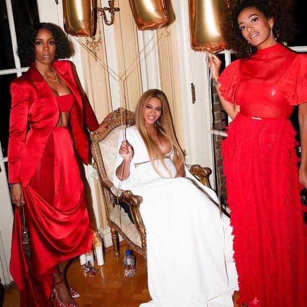 Beyoncé em festa (Foto: Reprodução/Instagram)