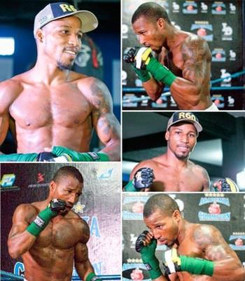 Robson Conceição; boxe; mosaico (Foto: Egi Santana/GloboEsporte.com)