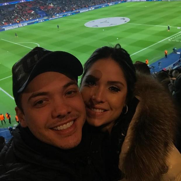 Wesley Safadão e Thyane Dantas em Paris (Foto: Reprodução / Instagram)